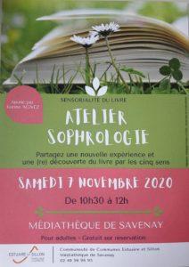 Un atelier pour (re)découvrir le livre par les 5 sens et la sophrologie.